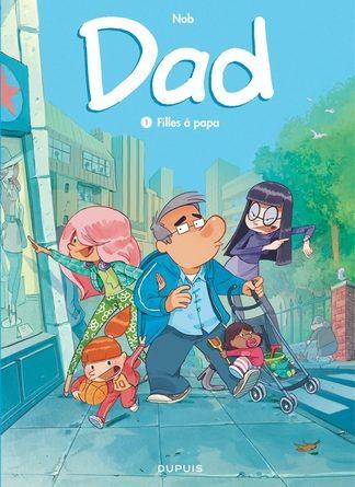 chronique BD de dad filles à papa