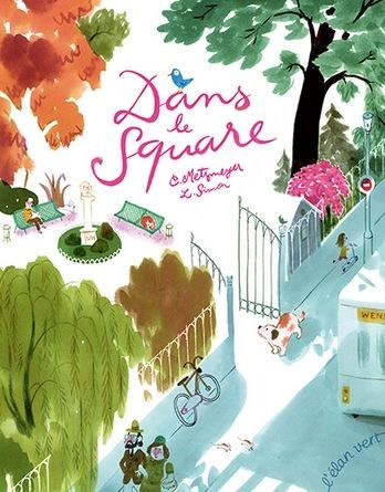 Chronique album jeunesse dans le square