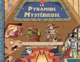 Chronique de l'album jeunesse la pyramide mystérieuse