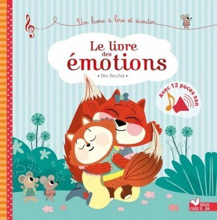 Chronique de l'album jeunesse le livre des émotions