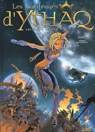 Critique de la bande dessinée les naufragés d'Ythaq.
