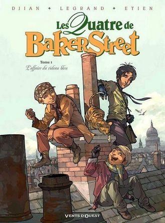 Chronique de la bande dessinée les quatre de Baker Street