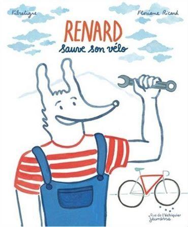 chronique de l'album jeunesse renard sauve son vélo