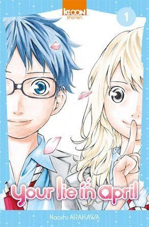 chronique du manga your lie in april