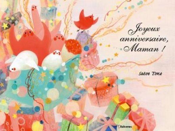 chronique de l'album jeunesse joyeux anniversaire maman