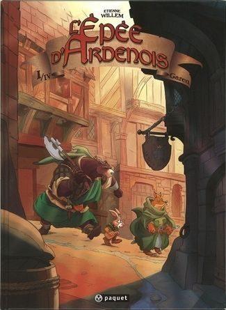 Chronique de la band dessinée l'épee d'ardenois