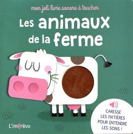 chronique de l'album jeunesse les animaux de la ferme.