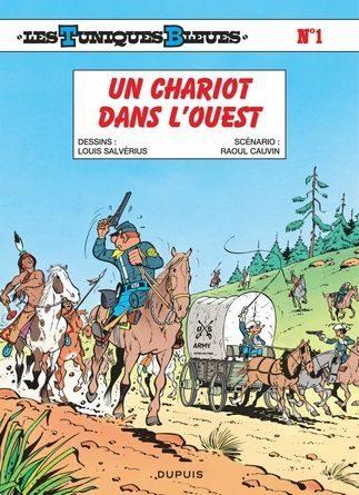 chronique les tuniques bleues un chariot dans l'ouest