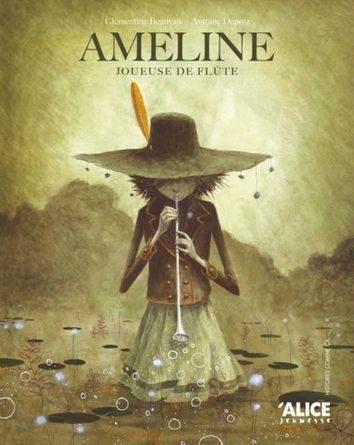 Critique de l'album jeunesse Ameline, joueuse de flûte