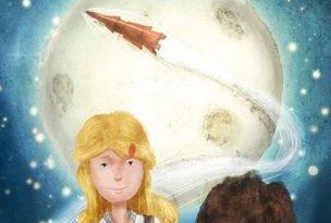chronique de l'album jeunesse Une fusée pour la lune