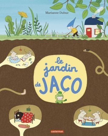 chronique de l'album jeunesse Le jardin de Jaco.