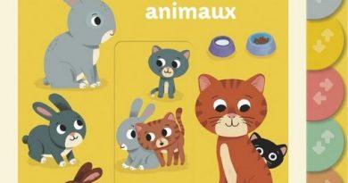 chronique de l'album jeunesse Les bébés animaux