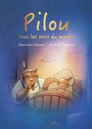 chronique de l'album jeunesse Pilou, tous les soirs du monde.