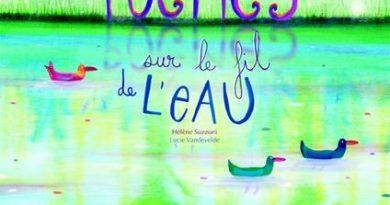 chronique de l'album jeunesse Poèmes sur le fil de l'eau