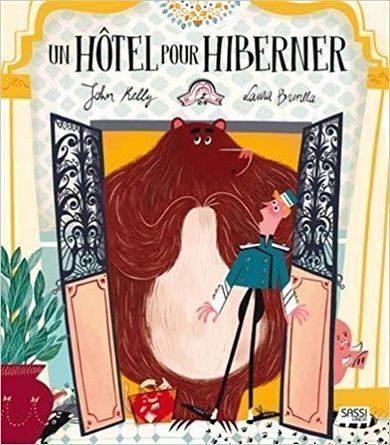 chronique de l'album jeunesse Un hôtel pour hiberner