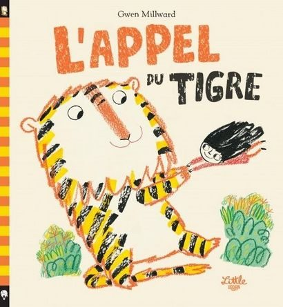 Chronique de l'album jeunesse L'appel du tigre