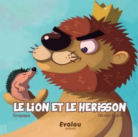 Chronique de l'album jeunesse le lion et le hérisson