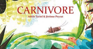 Chronique de l'album jeunesse Carnivore