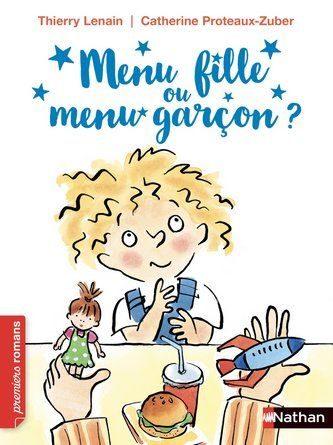 Chronique du roman jeunesse Menu fille ou menu garçon?