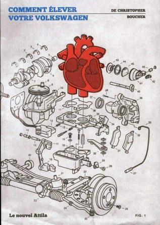 Chronique du roman Comment élever votre Volkswagen.