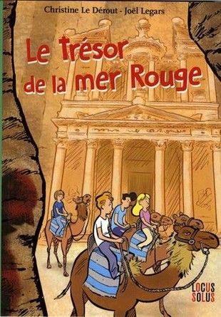 Chronique de l'album jeunesse Le trésor de la mer rouge.