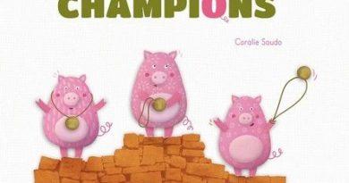 Chronique de l'album jeunesse Les trois petits champions