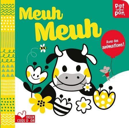 Chronique de l'album jeunesse Meuh Meuh!