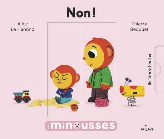 Chronique de l'album jeunesse Non! – Les Minousses.