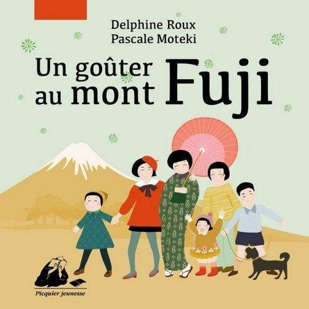 Chronique de l'album jeunesse Un goûter au Mont Fuji