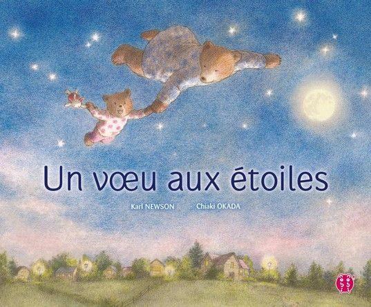 Chronique de l'album jeunesse Un voeu aux étoiles.