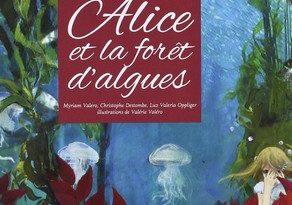Chronique de l'album jeunesse Alice et la forêt d'algues