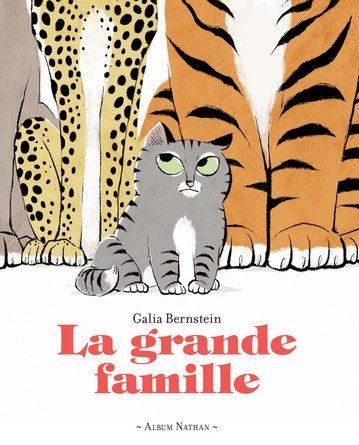 Chronique de l'album jeunesse La grande famille.