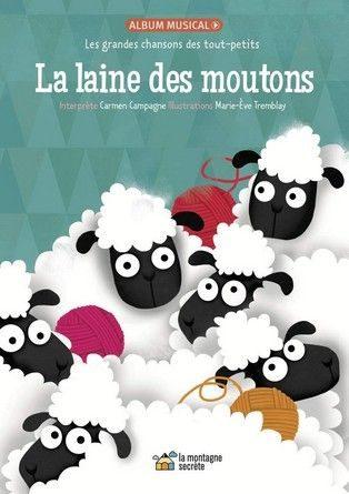 Chronique de l'album jeunesse La laine des moutons.
