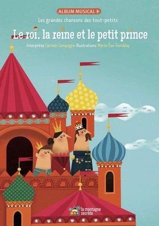 Critique de l'album jeunesse Le roi, la reine et le petit prince.