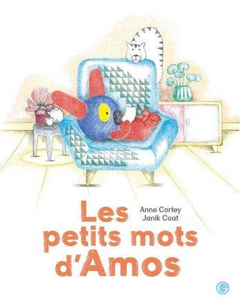 Chronique de l'album jeunesse Les petits mots d'Amos.