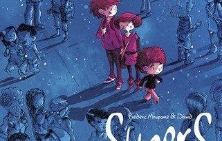 Chronique de la bande dessinée Supers_Une petite étoile juste en dessous de Tsih.