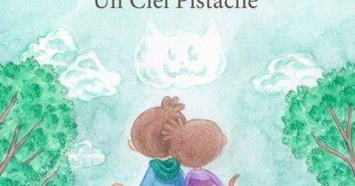 Chronique de l'album jeunesse Un ciel pistache.