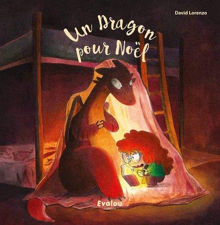 Chronique de l'album jeunesse Un dragon pour Noël.