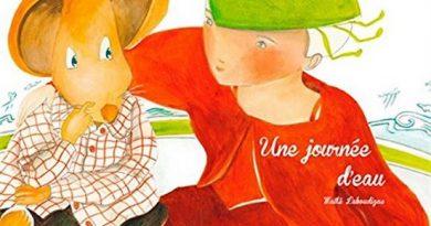 Chronique de l'album jeunesse Une journée d'eau.