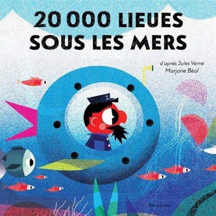 Chronique de l'album jeunesse 20 000 lieues sous les mers