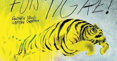 Chronique de l'album jeunesse Fuis tigre!