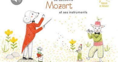 Chronique de l'album jeunesse Je découvre Mozart et ses instruments