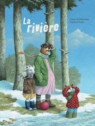 Chronique de l'album jeunesse La rivière.