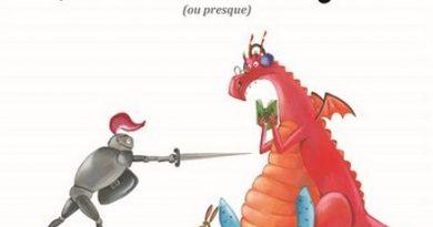 Chronique de l'album jeunesse Lubin pourfendeur de dragons (ou presque)