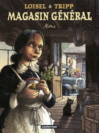 Chronique de la bande dessinée Magasin Général : Marie.