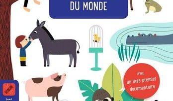 Chronique de l'album jeunesse Mon coffret sonore des animaux du monde.