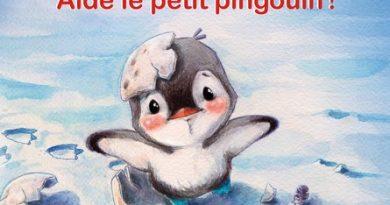 Chronique de l'album jeunesse Oui, TOI! Aide le petit pingouin!