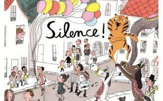 Chronique de l'album jeunesse Silence.