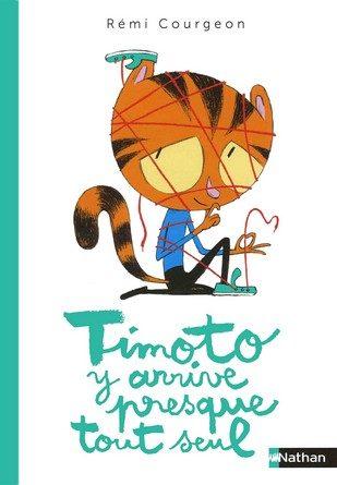 Chronique de l'album jeunesse Timoto y arrive presque tout seul.