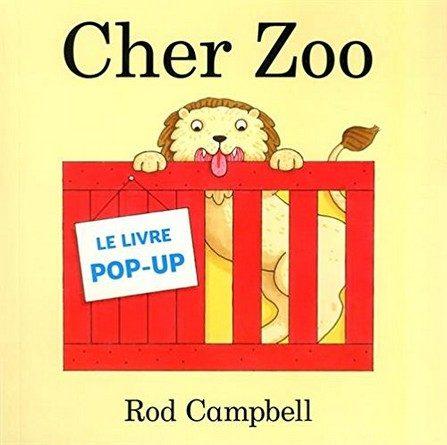 Chronique de l'album jeunesse Cher Zoo.